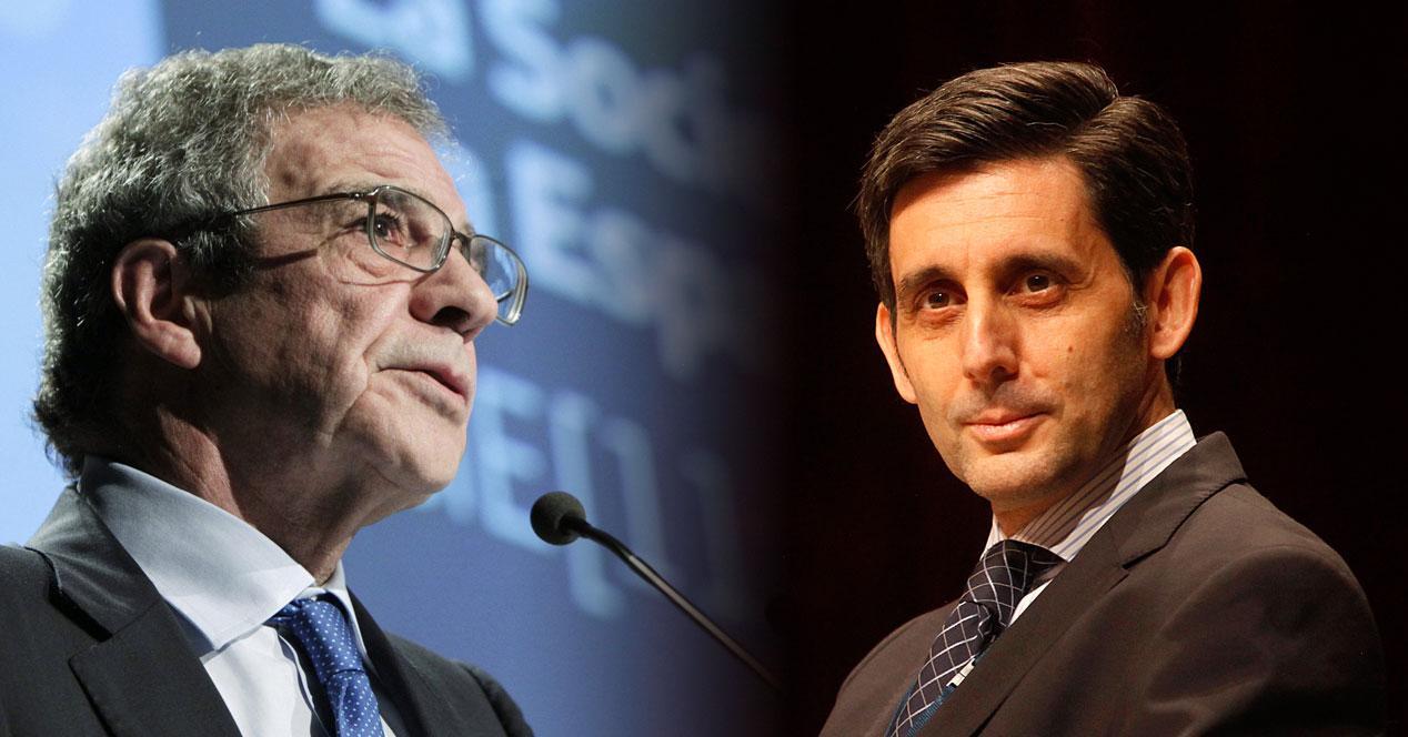 César Alierta y José María Álvarez-Pallete