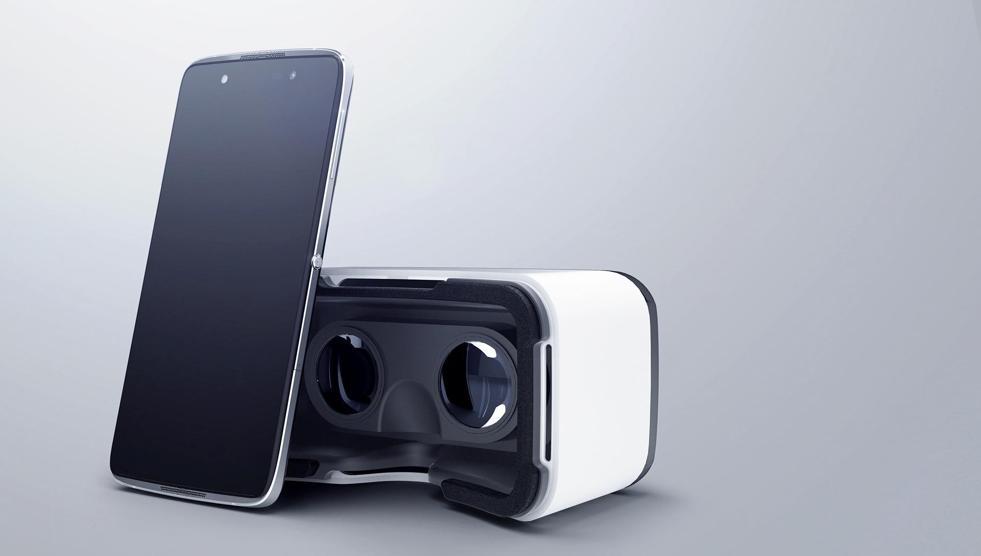 Alcatel Idol 4S con gafas de realidad virtual