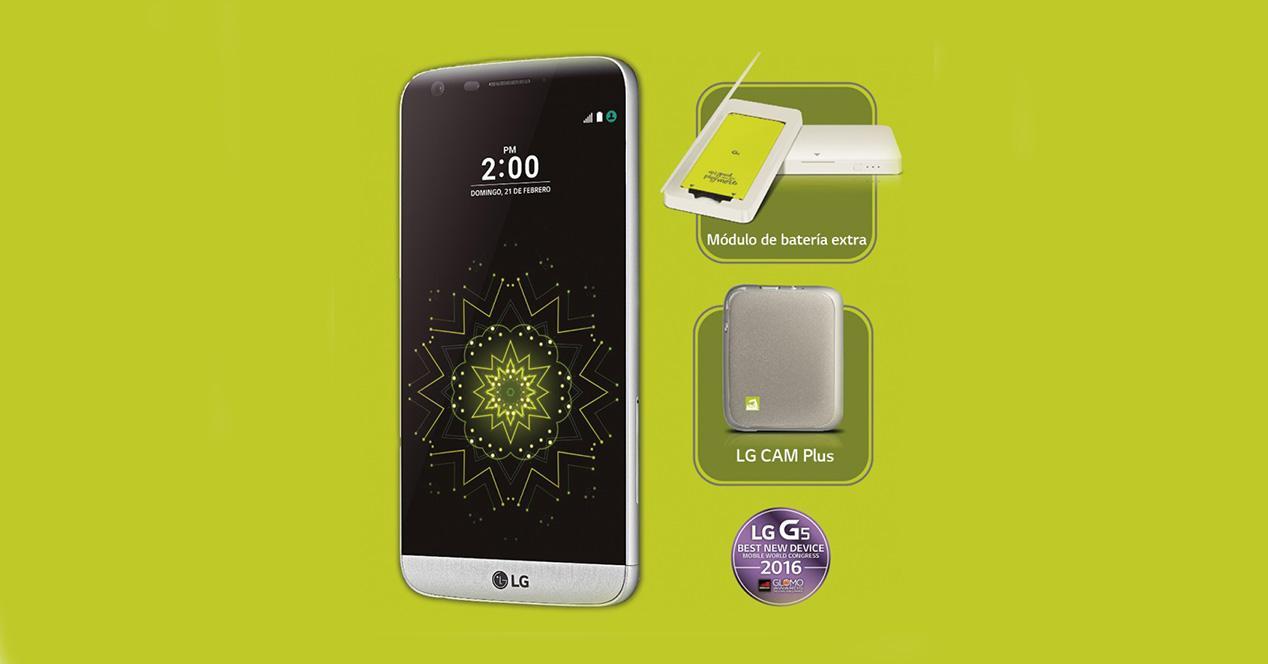 Lanzamiento del LG G5