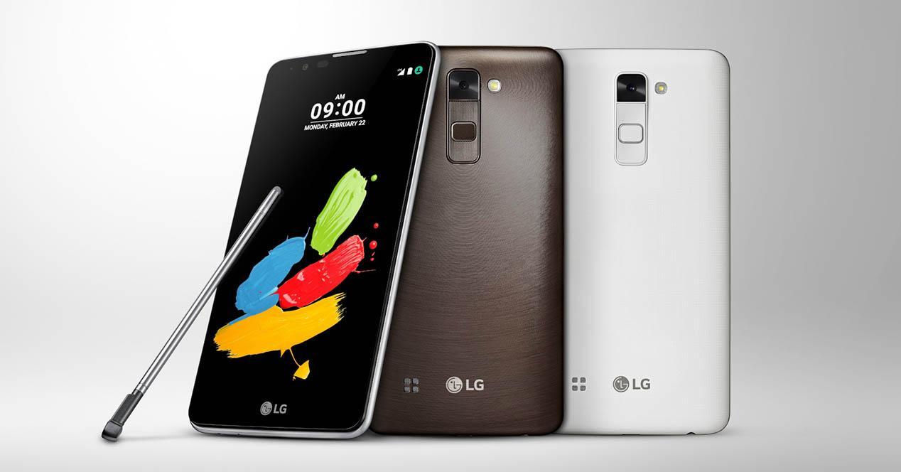 LG Stylus 2 bodegon