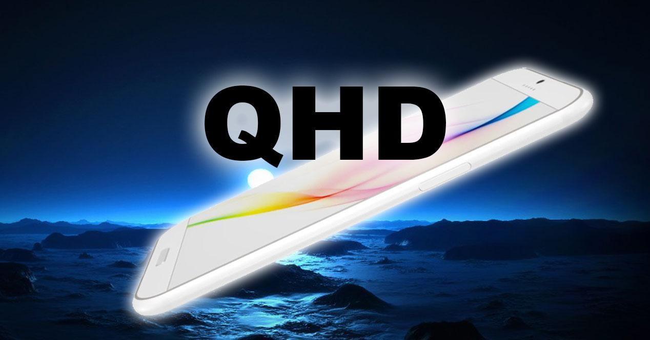 pantalla QHD en movil