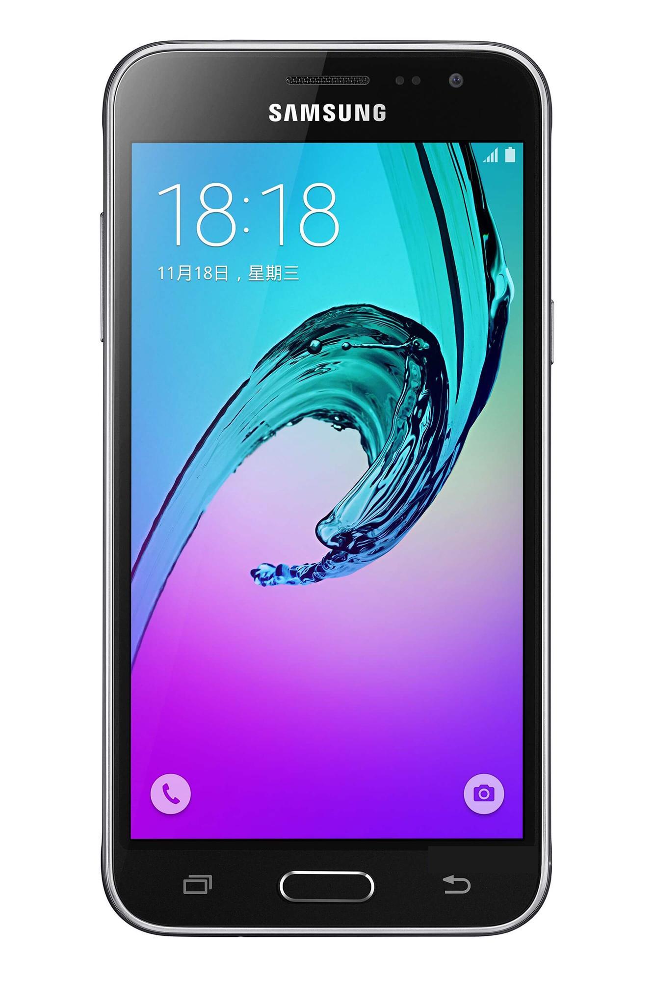 Samsung Galaxy J3 versión 2016 en color negro