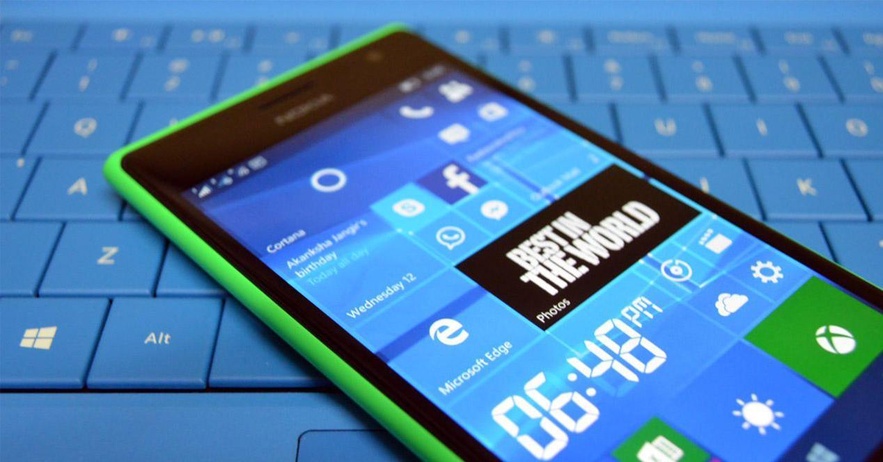 Nokia Lumia con Windows