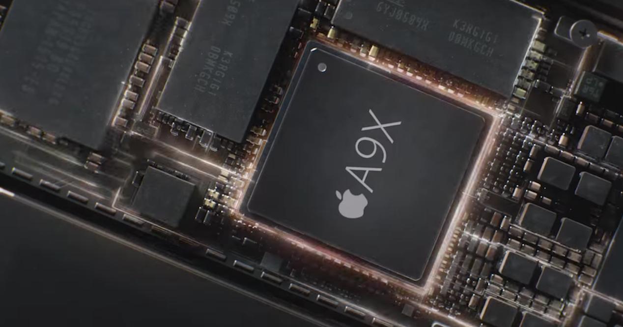 procesador a9x de apple