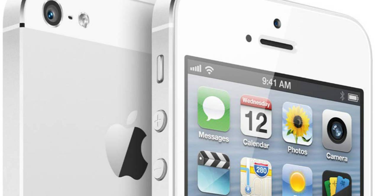 iPhone 5 y su pantalla 4``