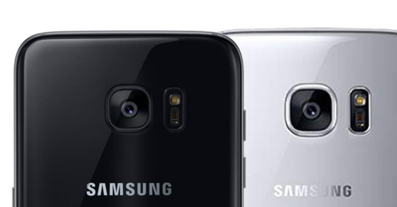 Samsung Galaxy S7 comparativa de sensores