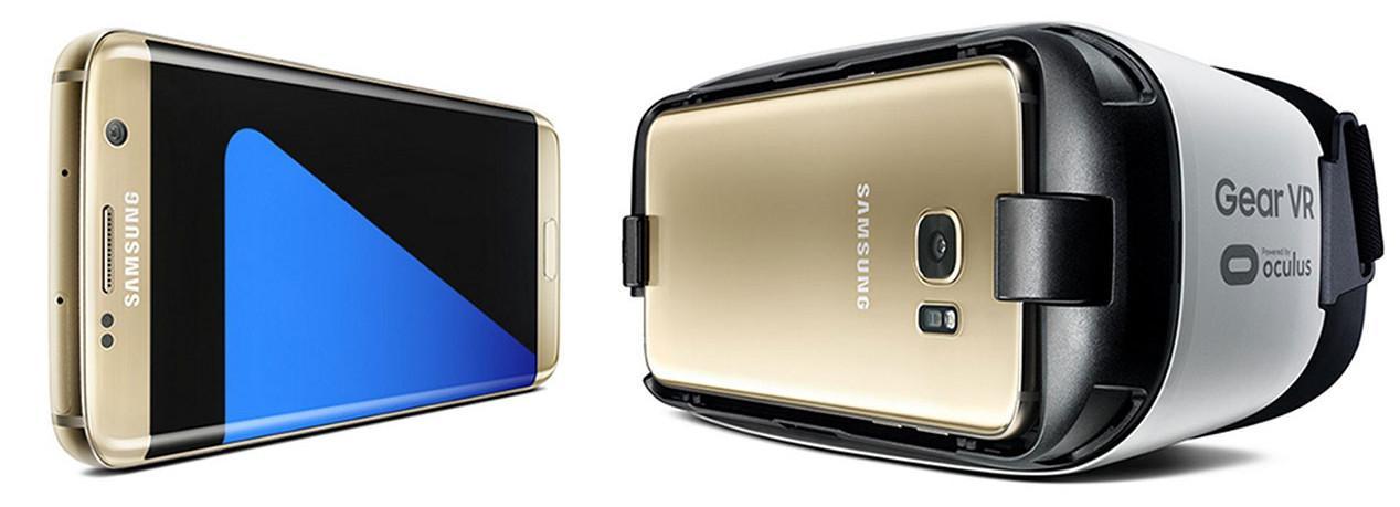 Galaxy S7 con Gear VR