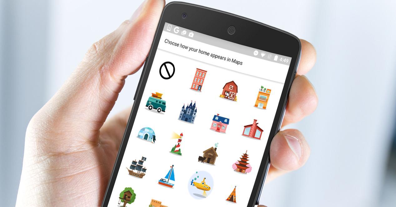 google maps en smartphone