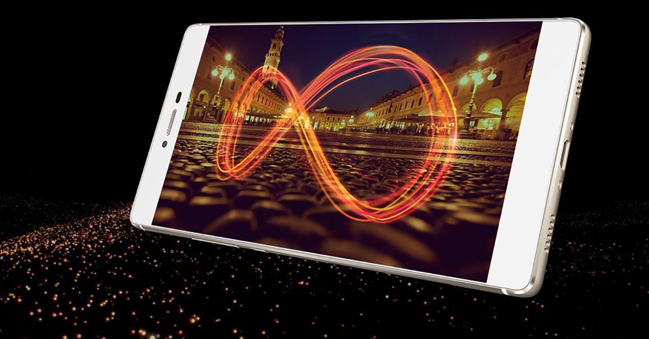 Huawei p8 en color blanco