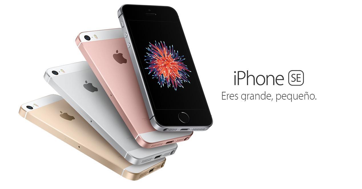 Lanzamiento comercial del iPhone SE en España