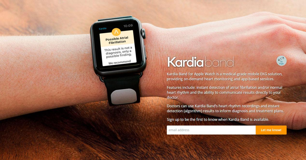 Kardia Band para el Apple Watch