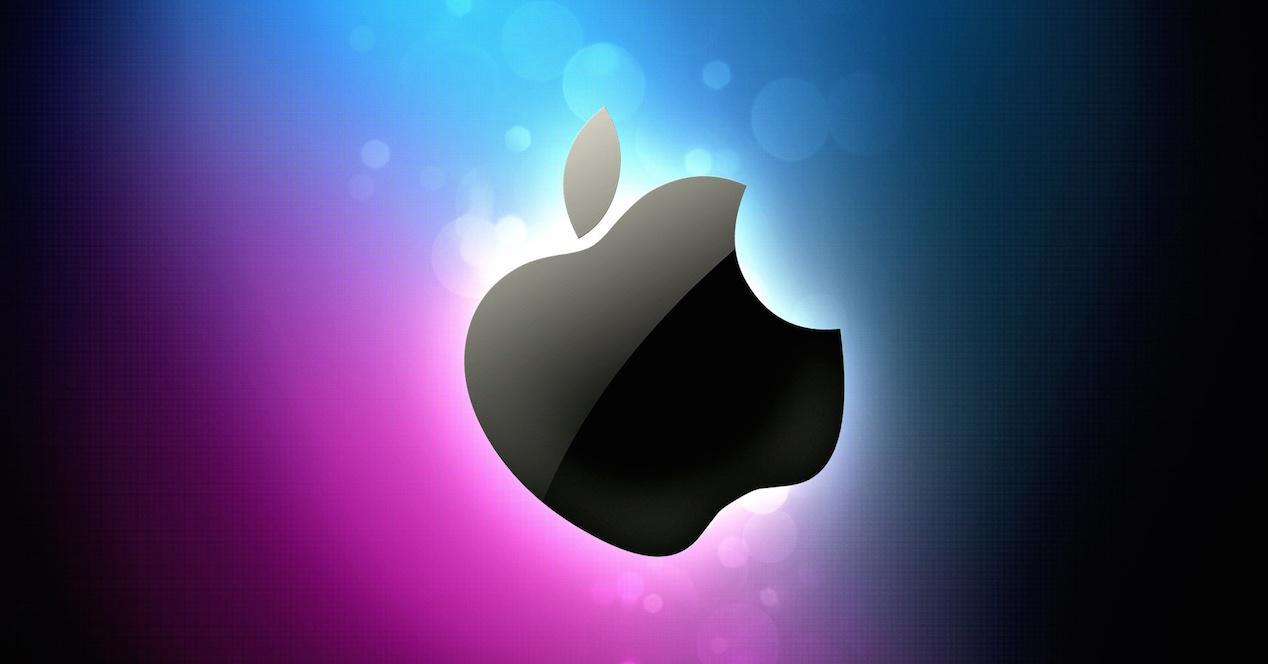 logo Apple colores