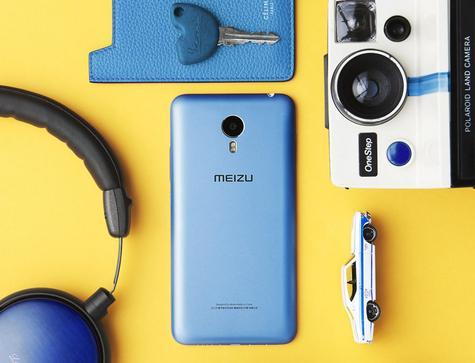 Meizu M1 Metal en color azul