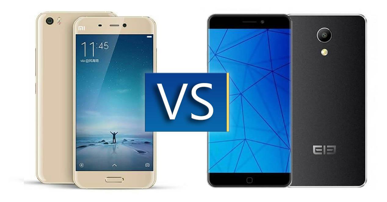 comparativa Xiaomi Mi5 vs Elephone P9000