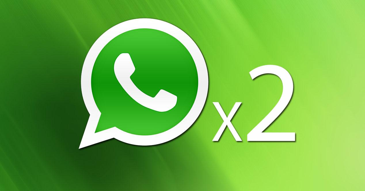 Logo WhatsApp x 2