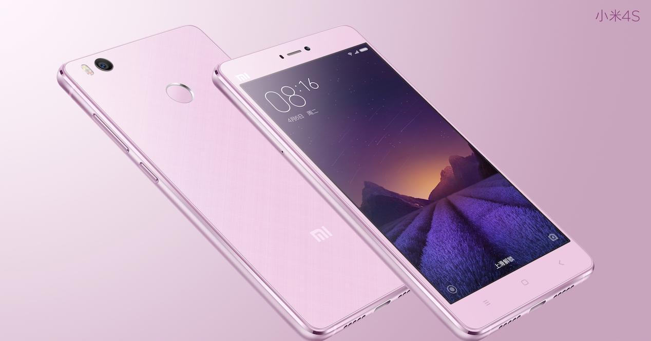 Xiaomi Mi4s rosa