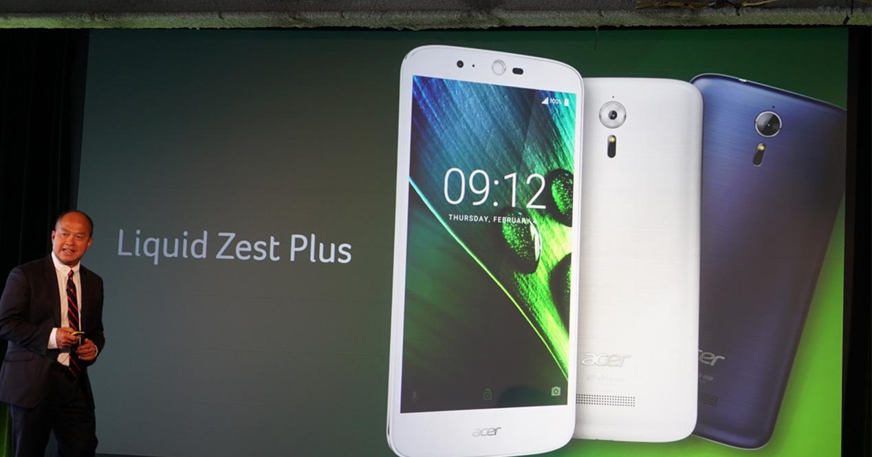 Presentación del Acer Liquid Zest Plus