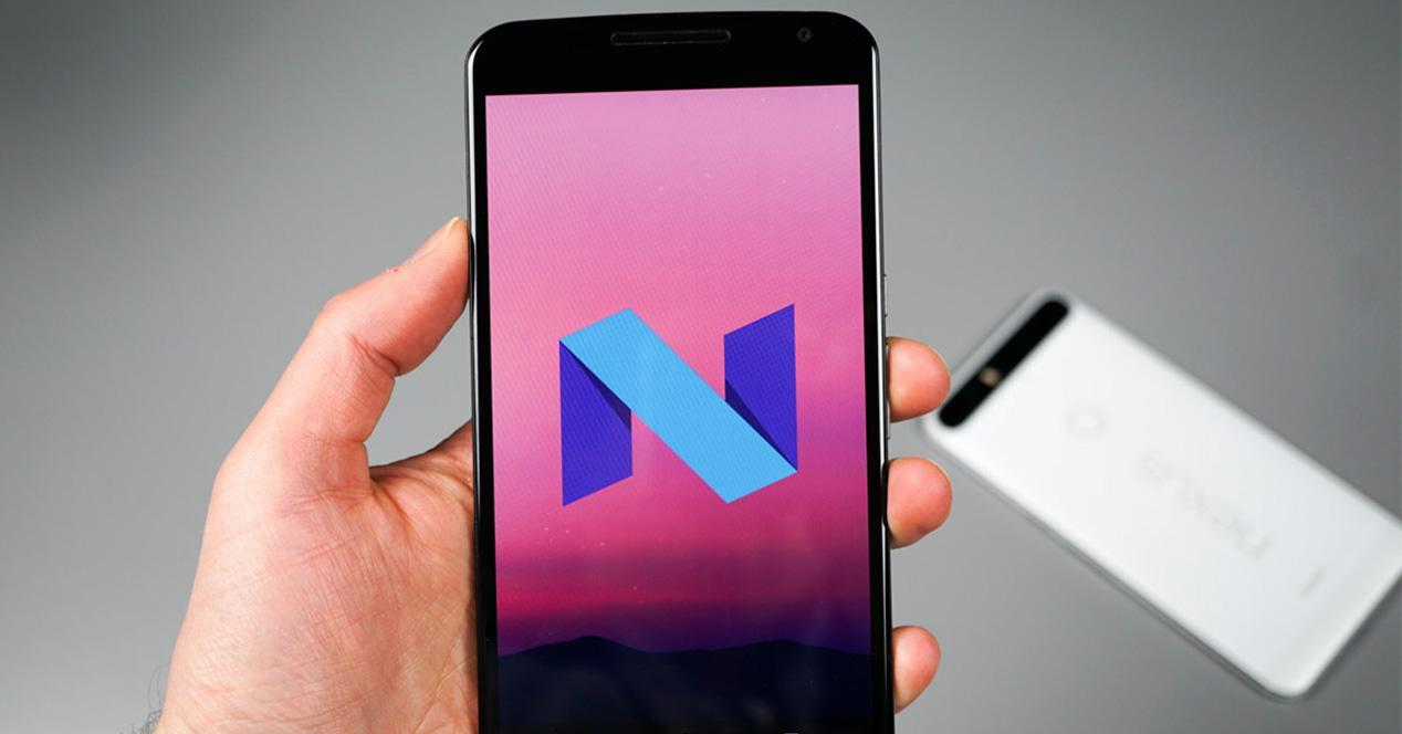 Versión para desarrolladores de Android N