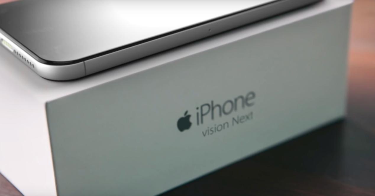 diseño vision next del iphone 7