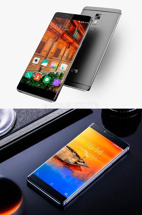 Elephone S3 negro y plateado