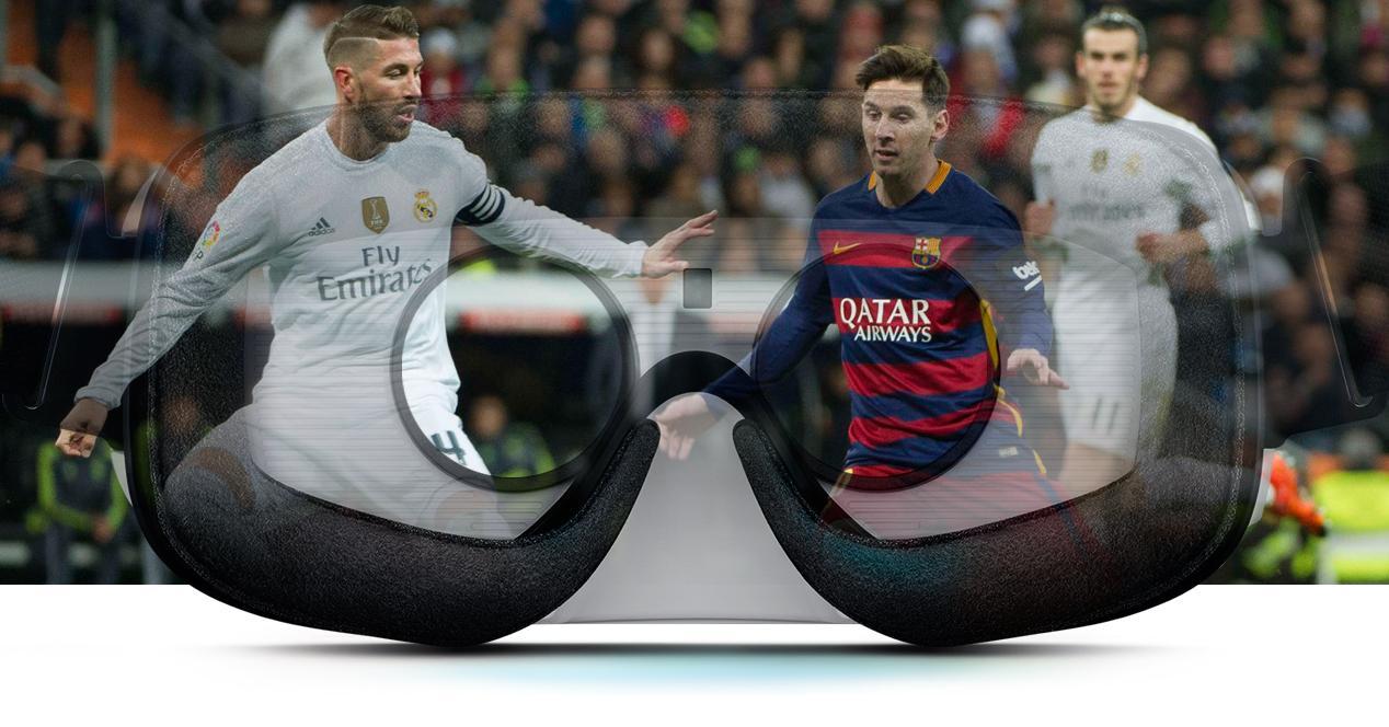 Clásico FC Barcelona - Real Madrid Gear VR