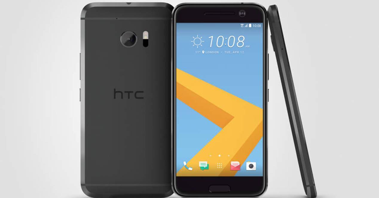 HTC 10 color negro
