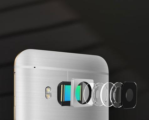 HTC One S9 detalle de la cámara