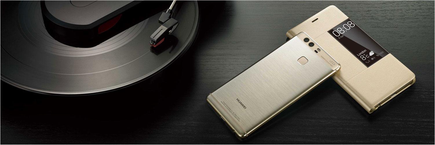 Huawei P9 con funda