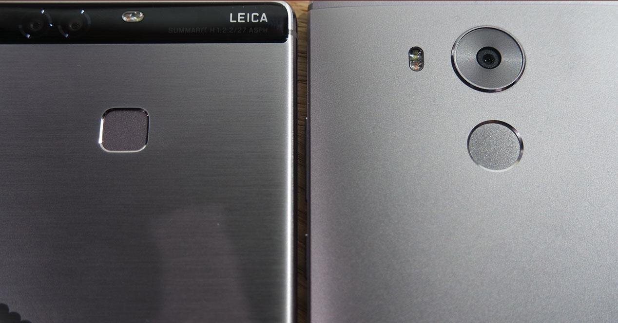 Huawei P9 Plus y Huawei Mate 8 camaras