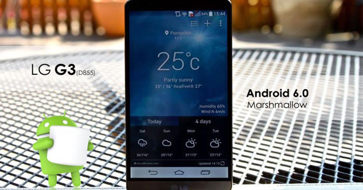 Actualización para el LG G3