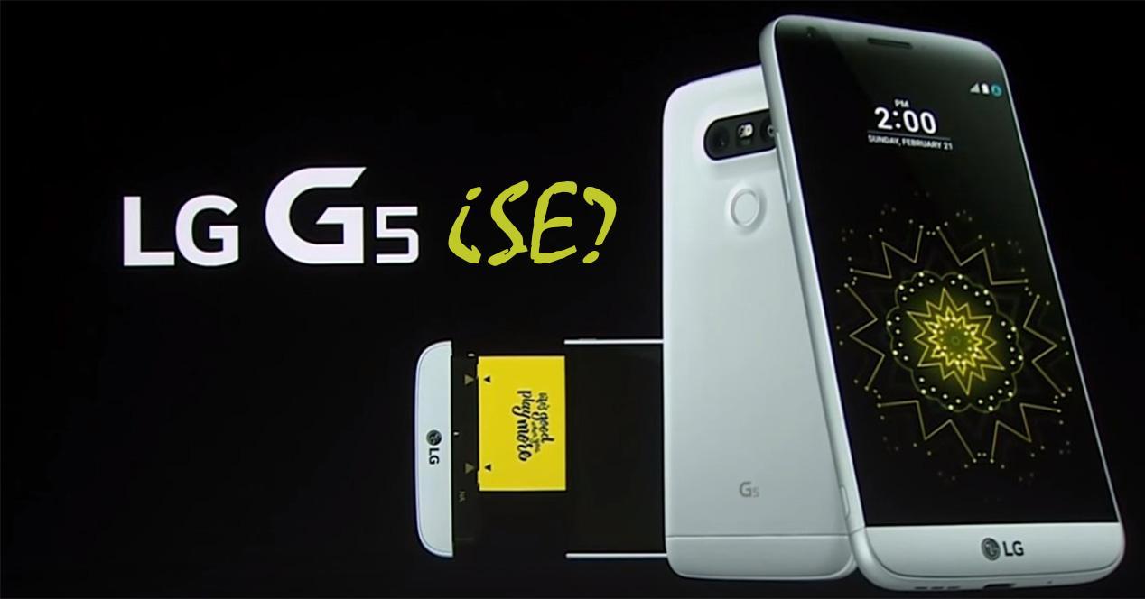 Nombre comercial del LG G5 SE