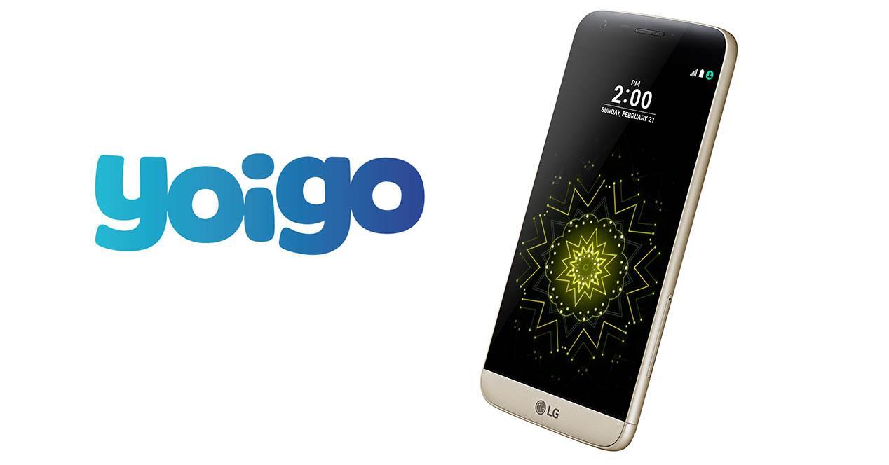 Precios del LG G5 en Yoigo