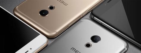 Meizu Pro 6 en plata, blanco, negro y dorado