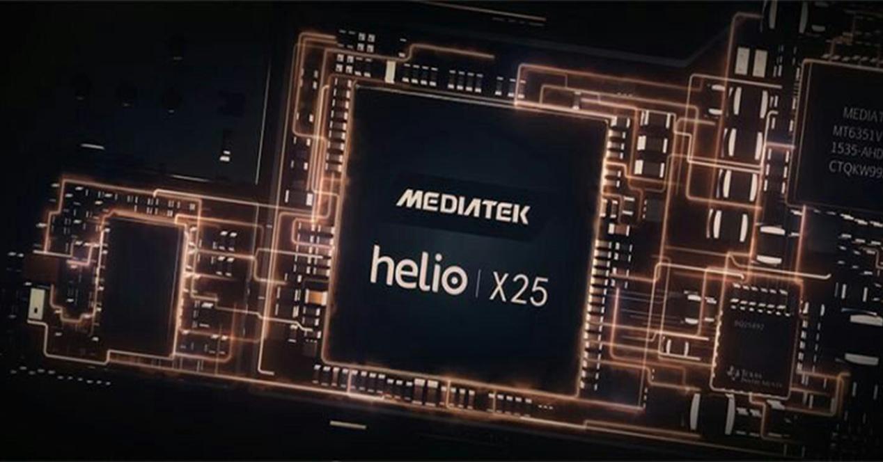 Rendimiento del procesdor mediaTek Helio X25