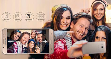 Samsung Galaxy J5 2016 haciendo fotos