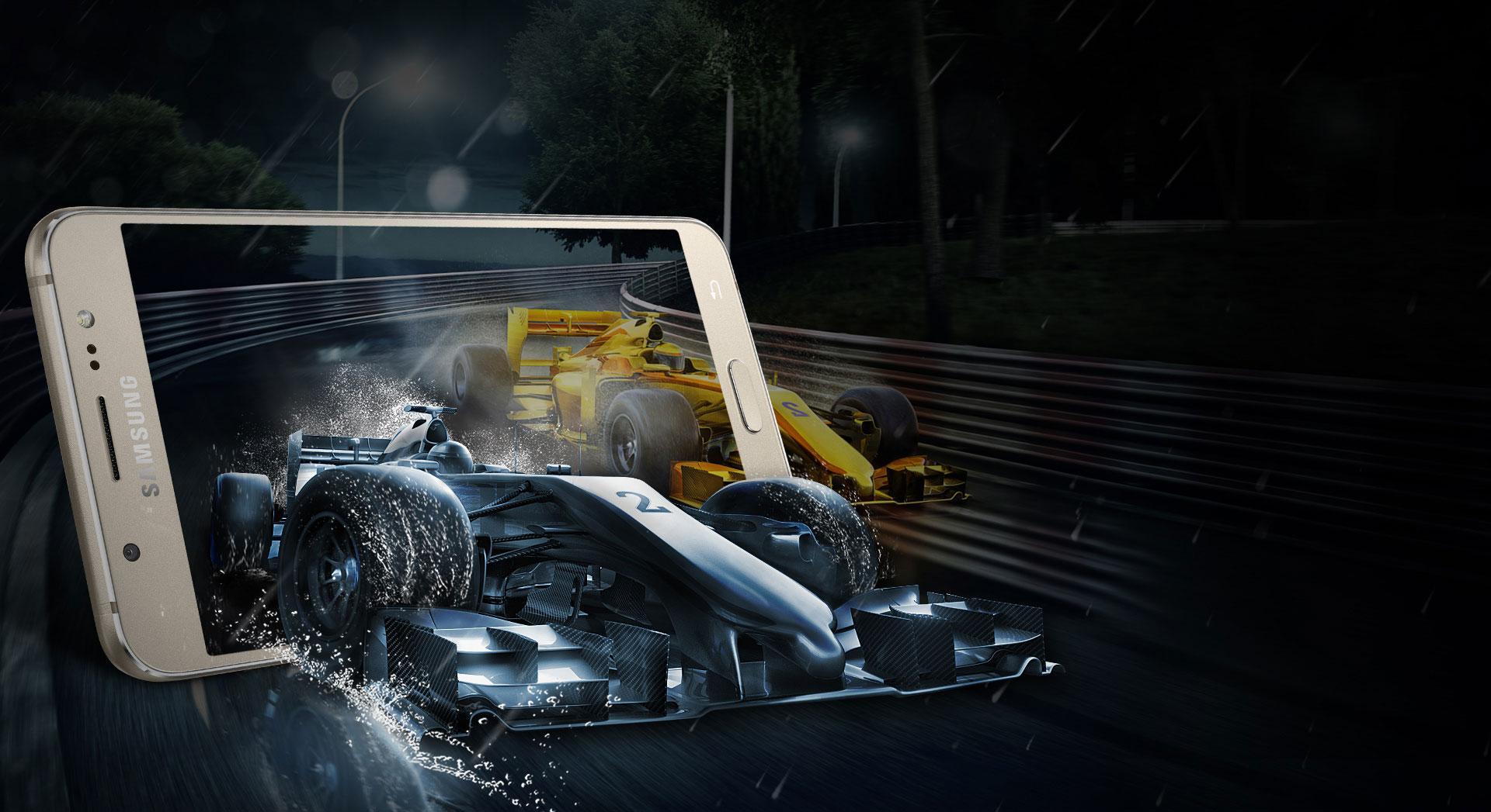 Samsung Galaxy J7 2016 con videojuego