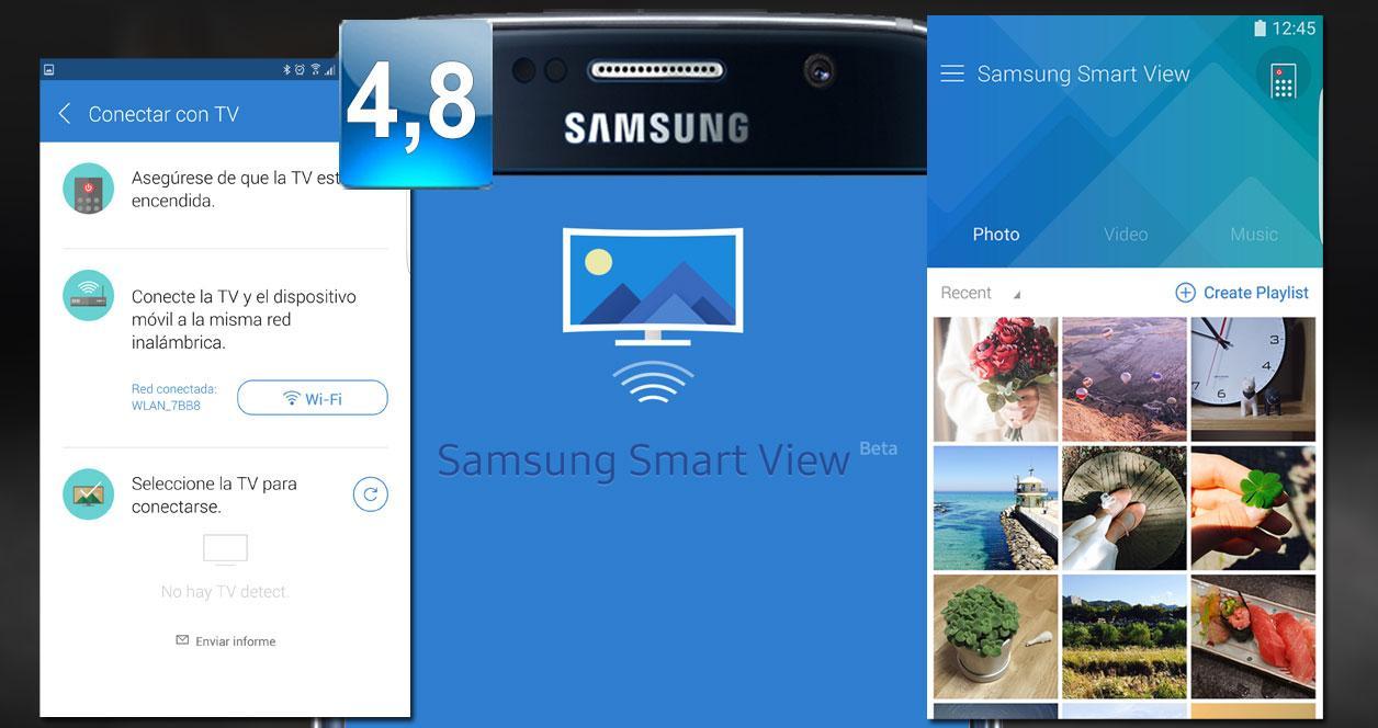 Imagen aplicación Samsung SmartView
