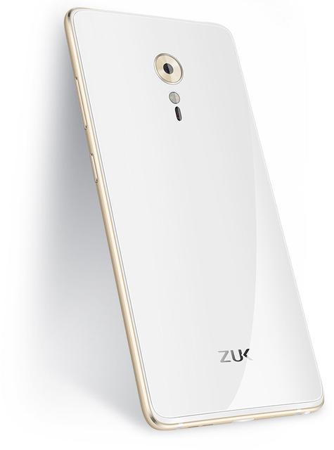 ZUK 2 Pro blanco y oro
