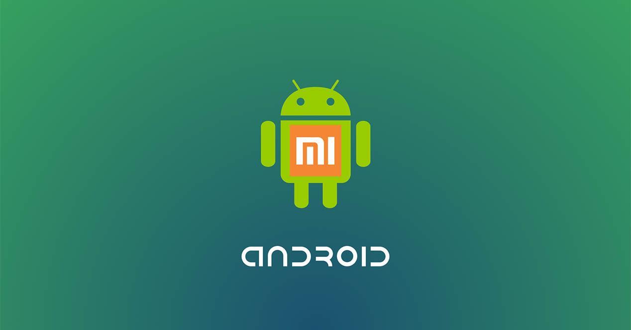 Android con logo Xiaomi