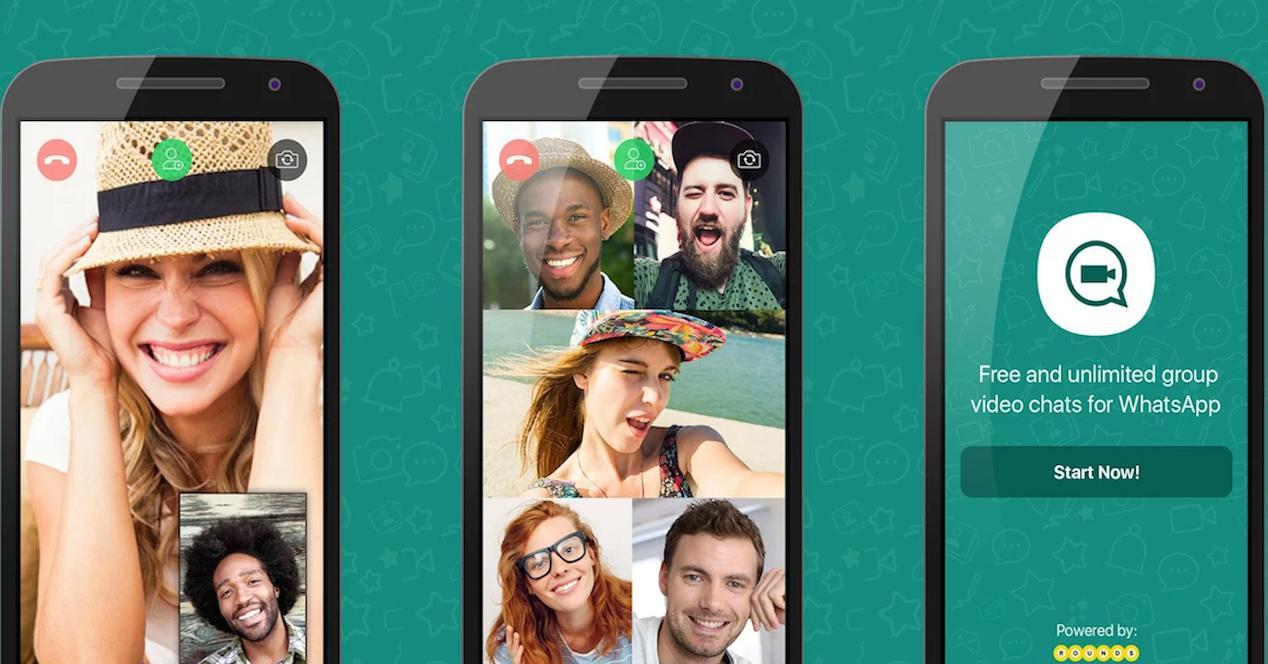 app booyah para realizar videollamadas en whatsapp