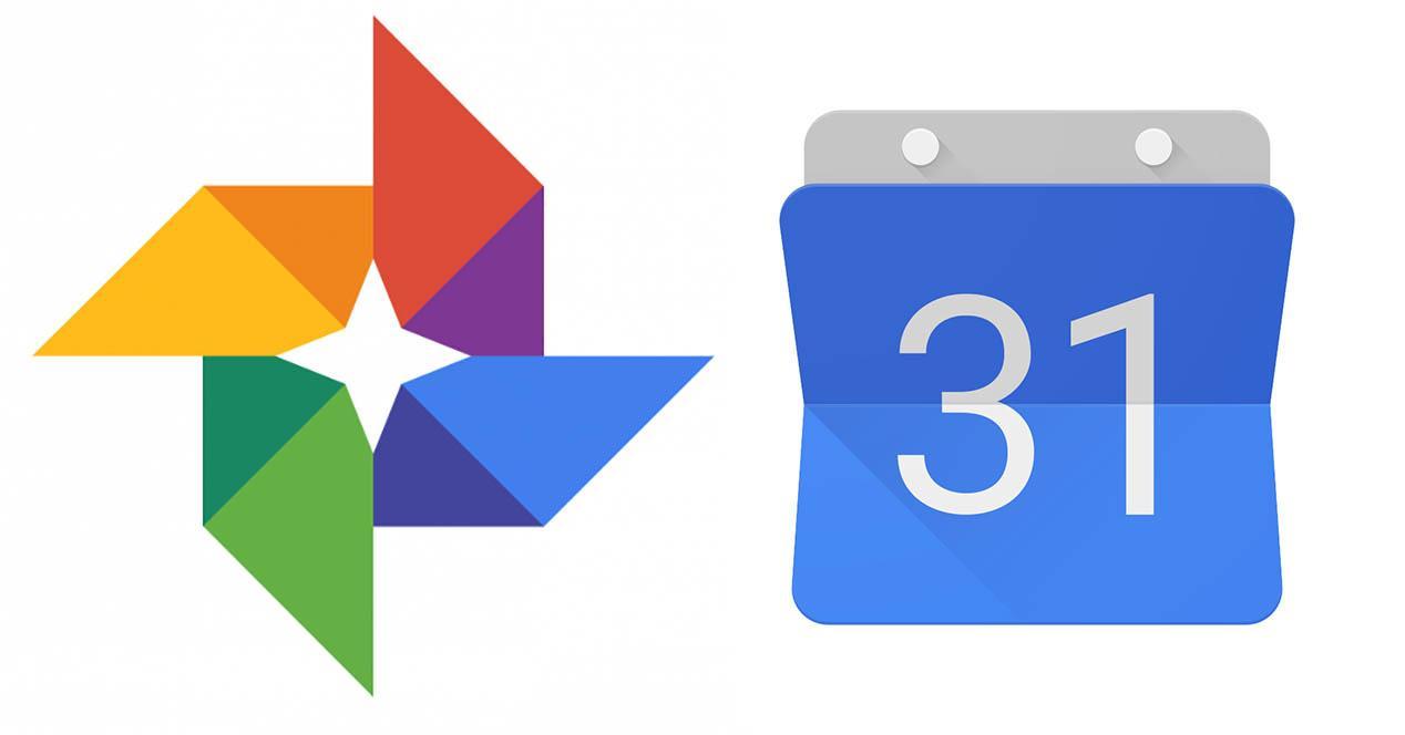 Google Fotos y Calendario