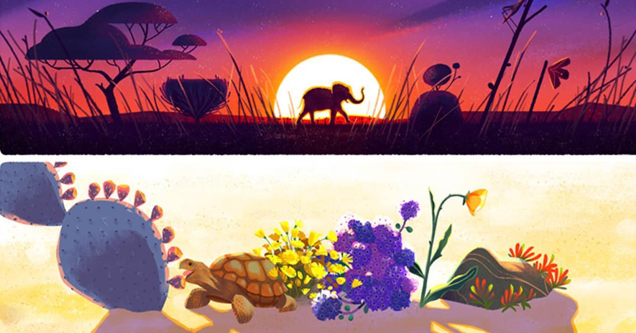 el dia de la tierra portada doodle