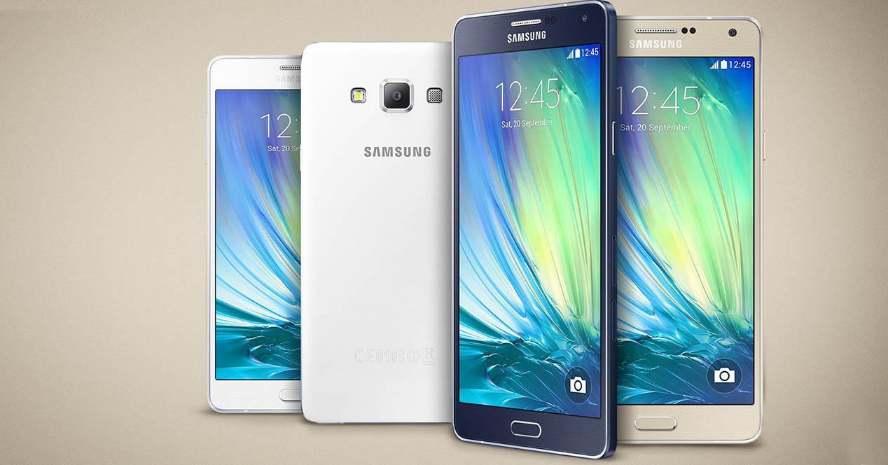 gama Samsung Galaxy A