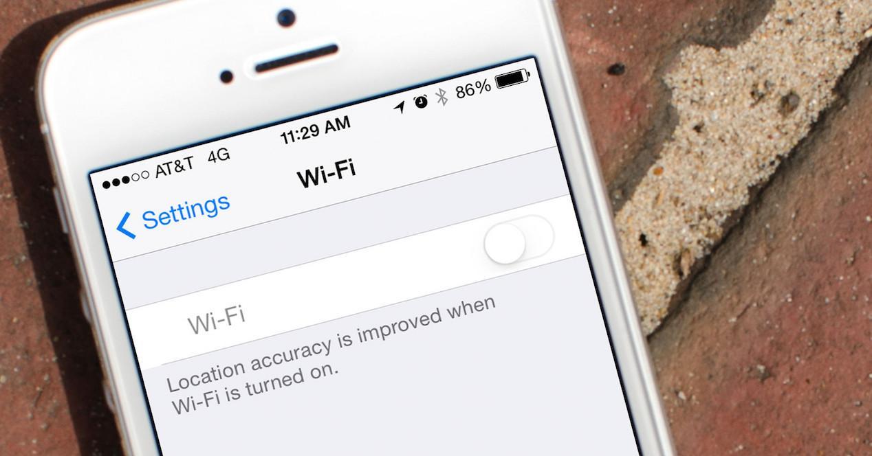 configuración wifi ios