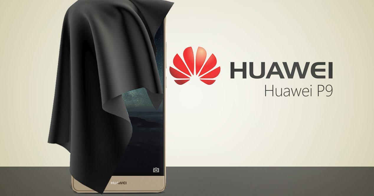 Huawei P9 bajo una sábana