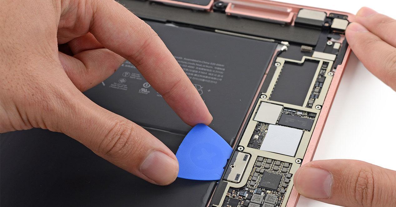 Desmontaje del iPad Pro 9.7