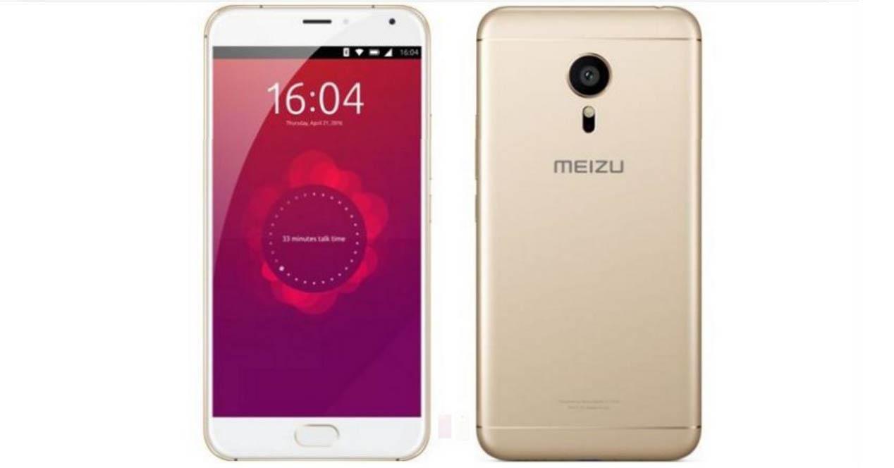 meizu pro 5 ubuntu edition color dorado