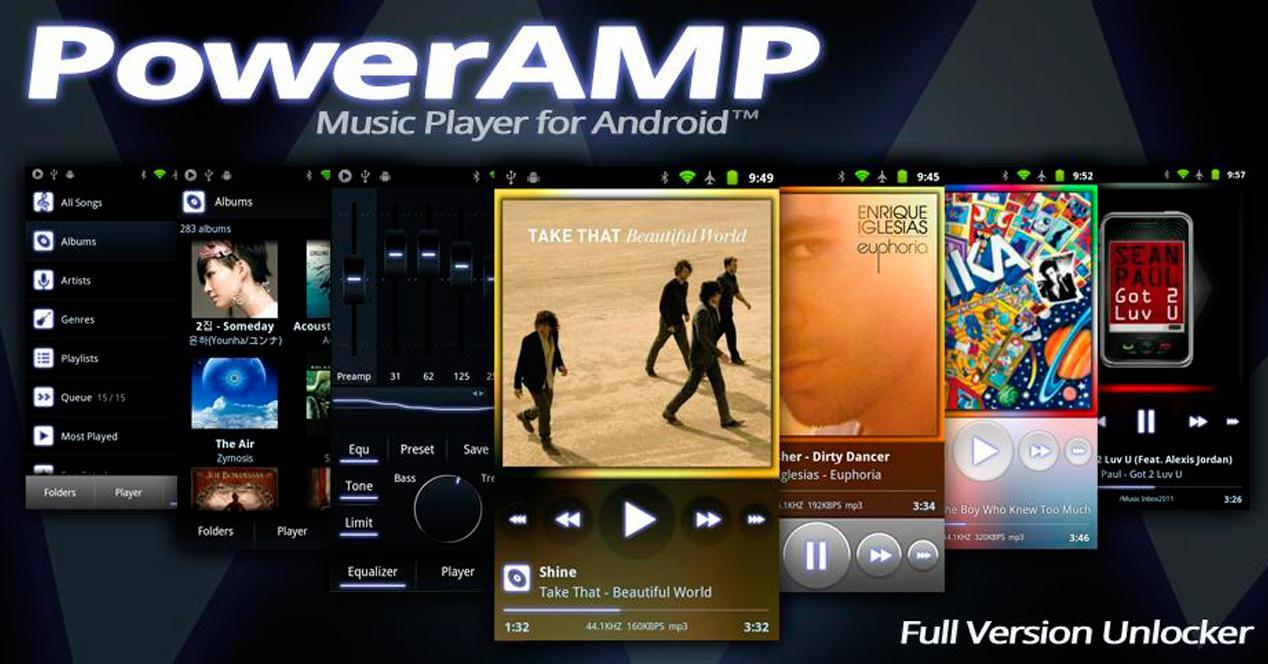 PowerAmp para Android