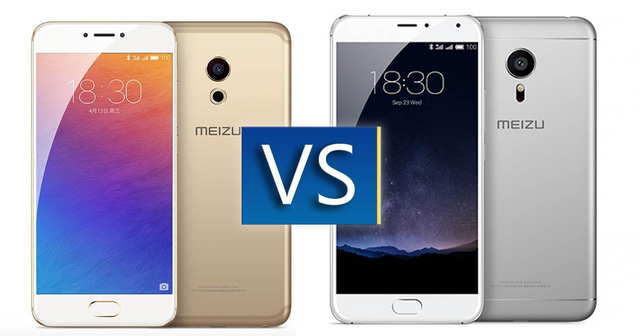 comparativa Meizu Pro 6 vs Pro 5