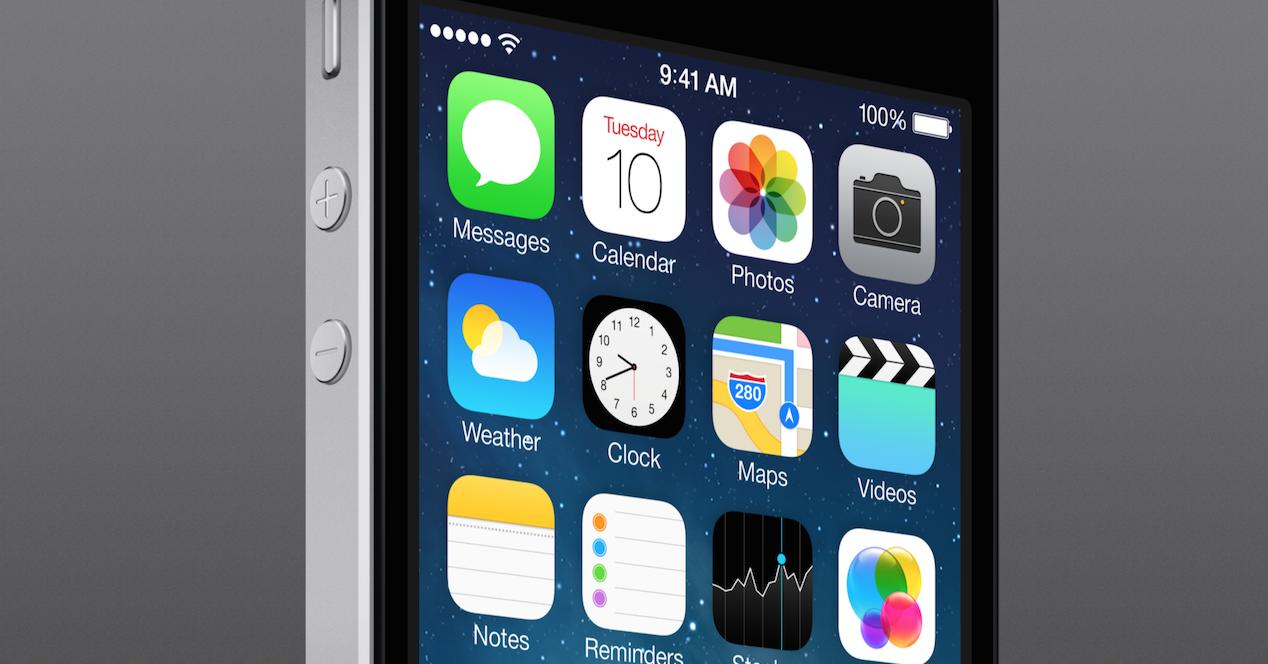 apps nativas de iOs en iPhone